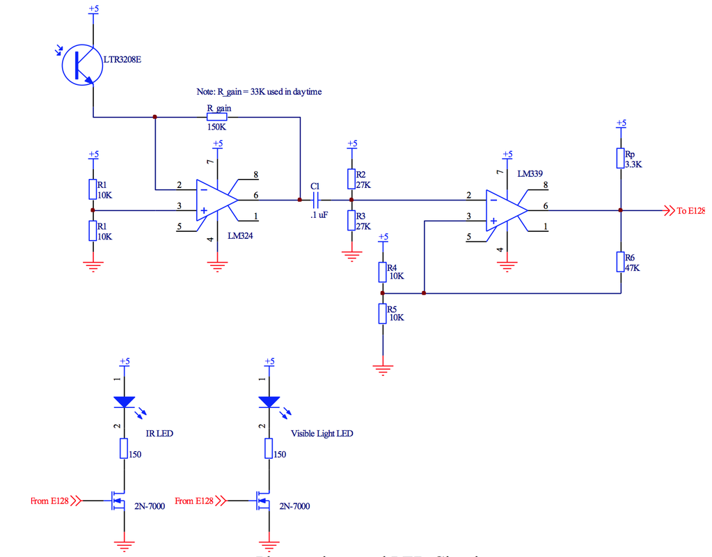 Electronics The Flying Dutchman Battlebot Ir Sensor Circuit Diagram Using Lm324 Phototransistor Led And Visible